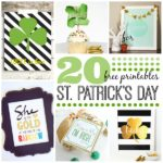 20 St. Patrick's Day Printables