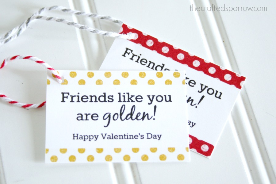 You are Golden Printable Valentine's