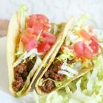 Ground Beef Tacos Made Lighter