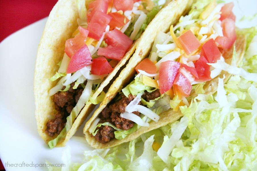 Ground Beef Tacos Made Lighter 3