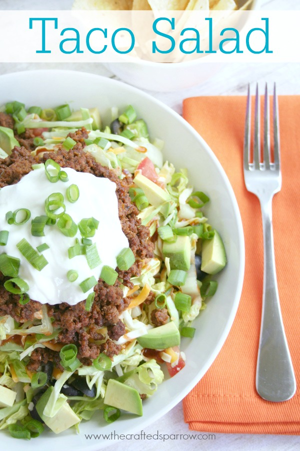 ... share my favorite taco salad recipe as promised here it is this salad