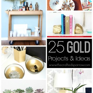 25 Great Gold Projects & Ideas