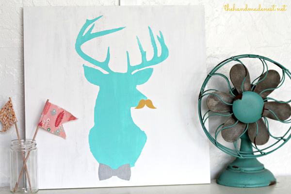Deer-Silhouette-from-The-Handmade-Nest