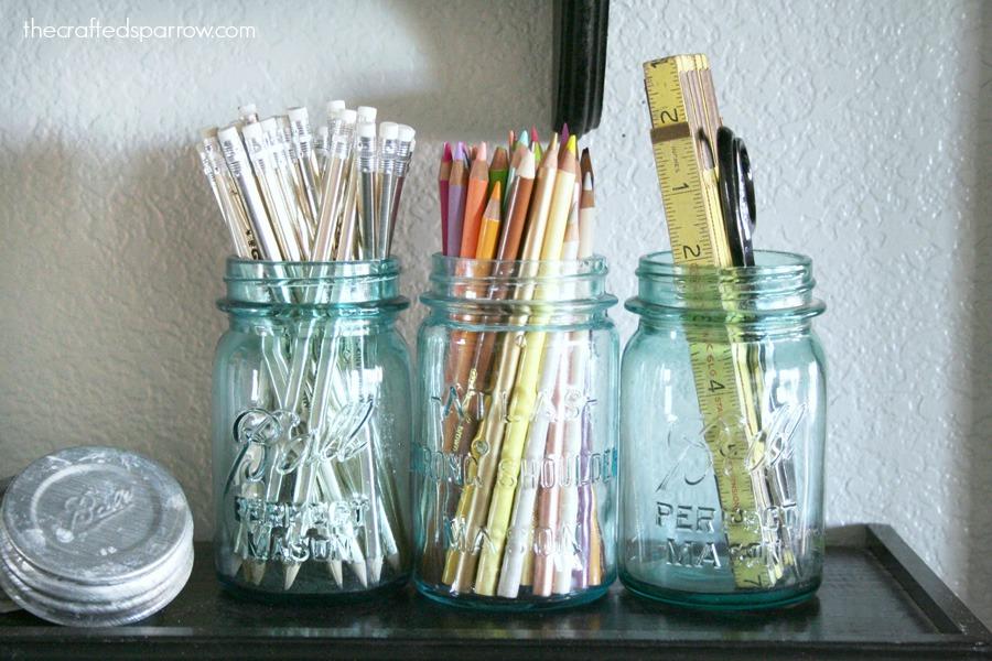 Easy Craft Room Organization 2