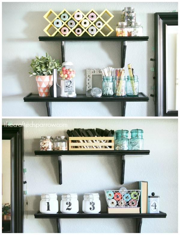 Easy Craft Room Organization 9