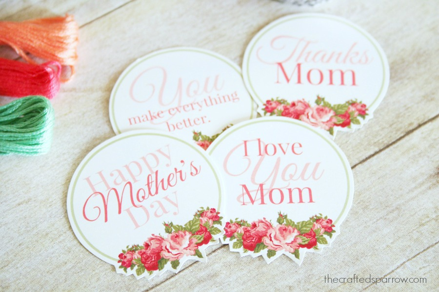 graphic relating to Free Printable Mothers Day Tags called Moms Working day Printable Tags