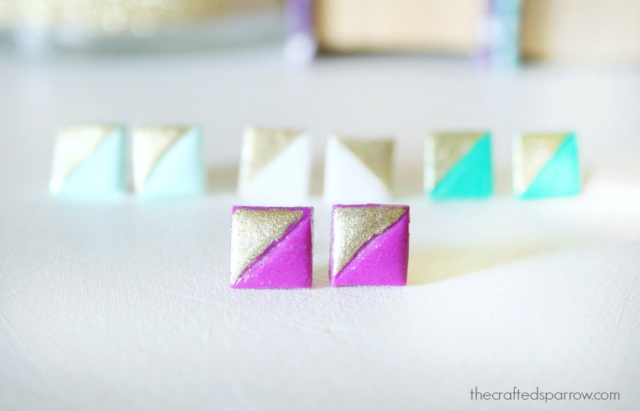 Simple Clay Earrings 10