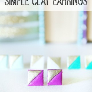Simple Clay Earrings