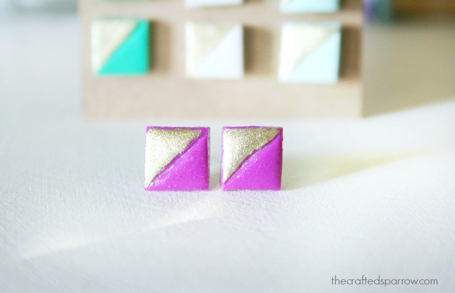 Simple Clay Earrings 6