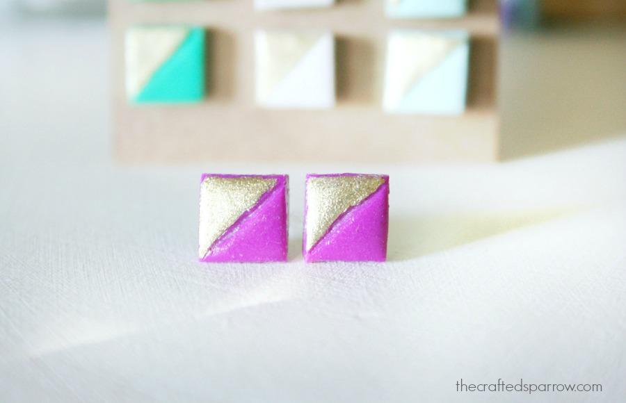 Simple Clay Earrings 6
