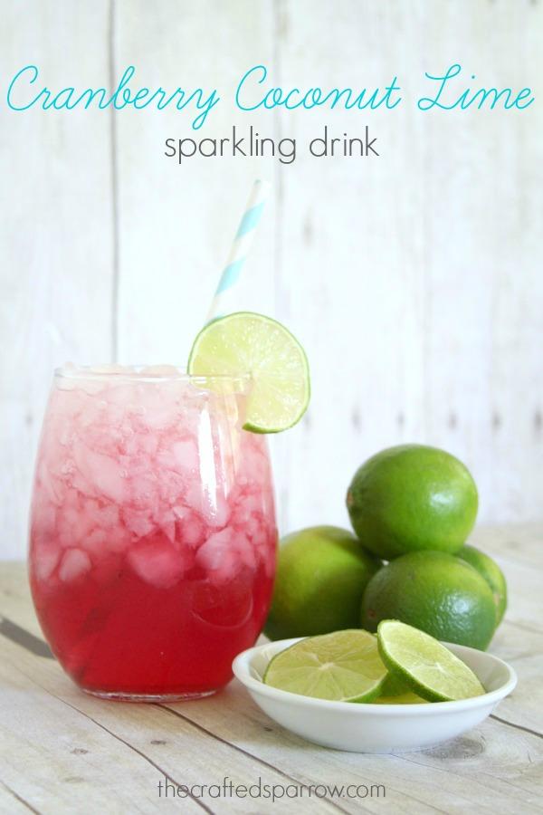 Cranberry-Coconut-Lime-Sparkling-Drink