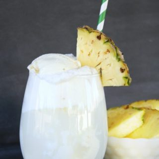 Piña Colada Floats