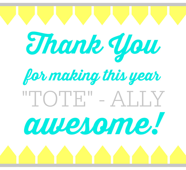 Tote - Ally Awesome Turquoise 1