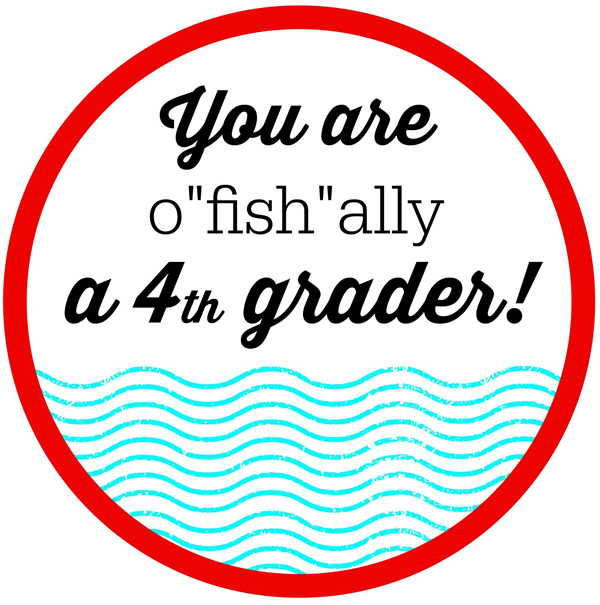O Fish Ally Summer Cl Gifts Printable Tags