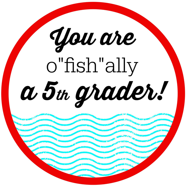 FISH-ALLY Summer Class Gifts & Printable Tags