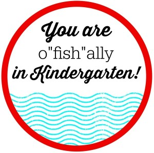 o-Fish-ially Summer Printable Tags