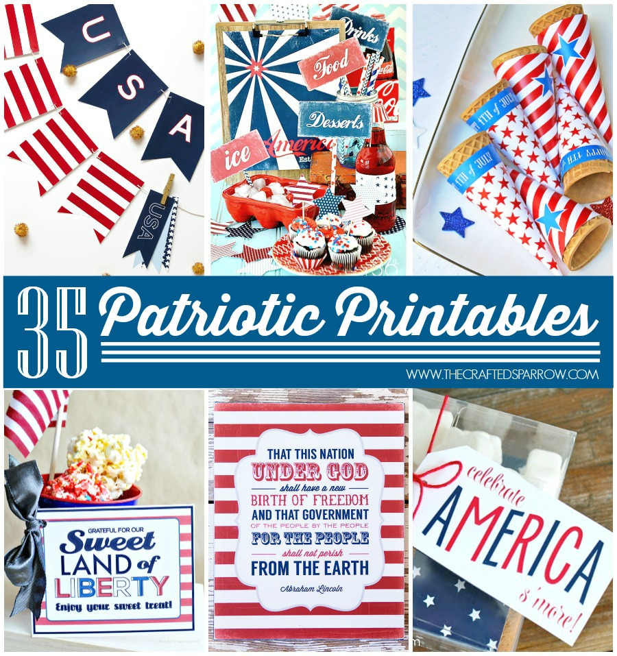 4th of july printable activities