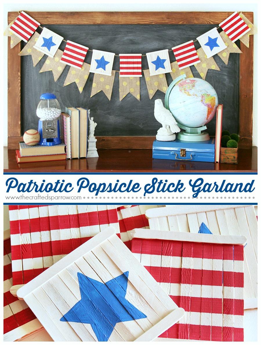 Patriotic-Popsicle-Stick-Garland