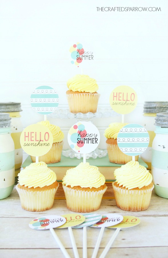 Free-Summer-Cupcake-Food-Topper-Printables