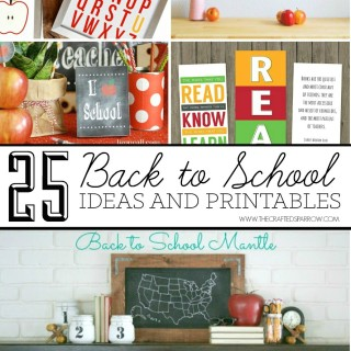 25 Back to School Ideas and Printables