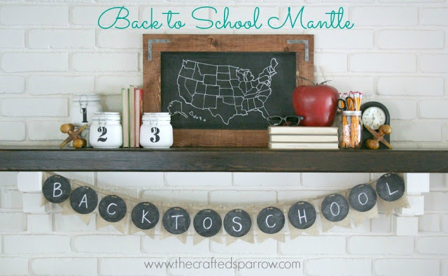 Back-to-School-Mantle