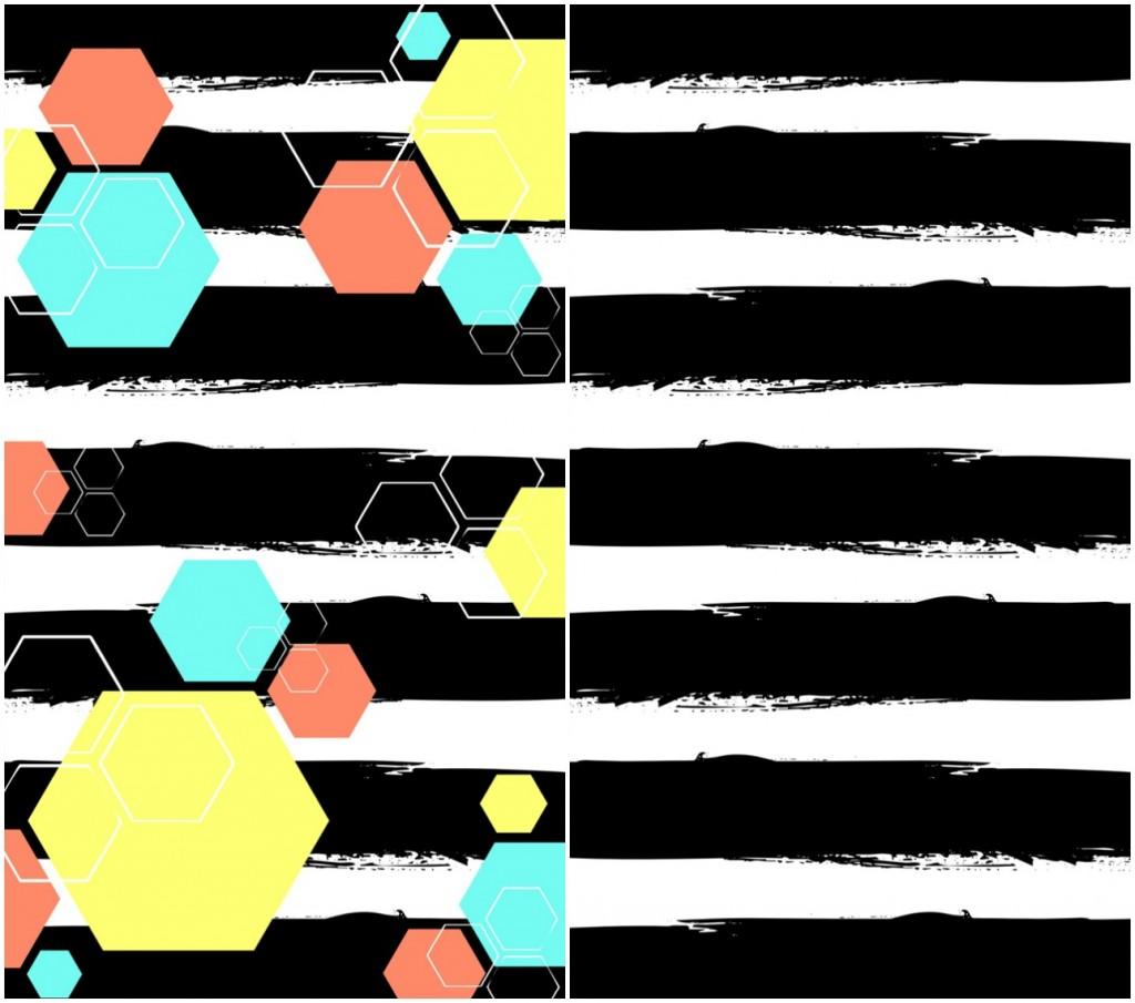 Black-Hexagon-Phone-Wallpaper