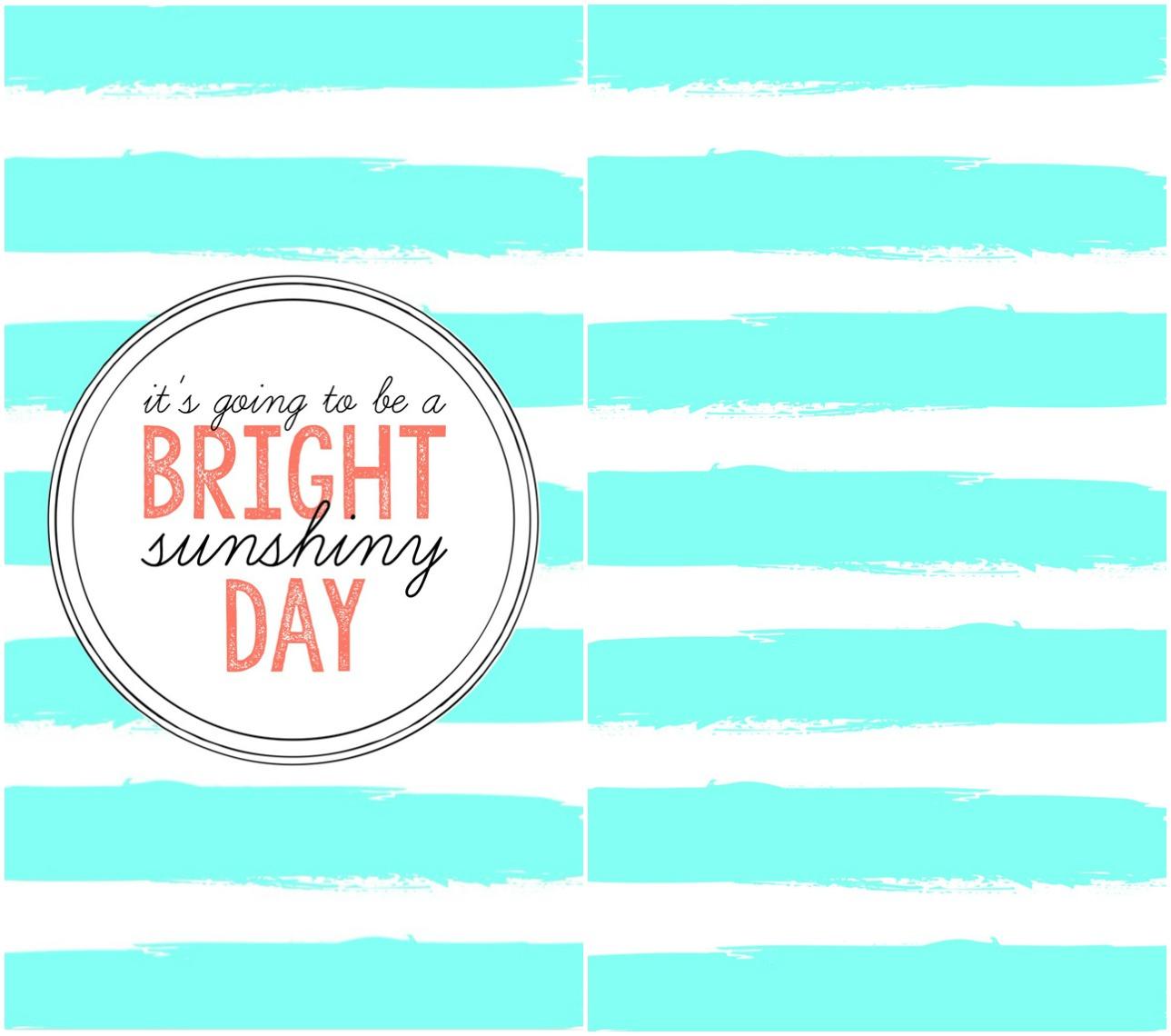 Bright Sunshiny Day Phone Wallpaper