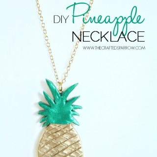 DIY Pineapple Necklace