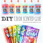 DIY Scented Colored Glue