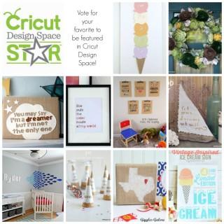 Cricut Design Space Star – Time to Vote!