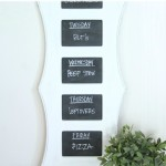 Fancy Framed Chalkboard Menu