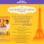 The Hundred Foot Journey – Gourmet Getaway Sweepstakes