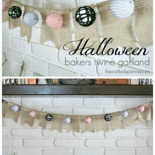 Halloween Bakers Twine Garland