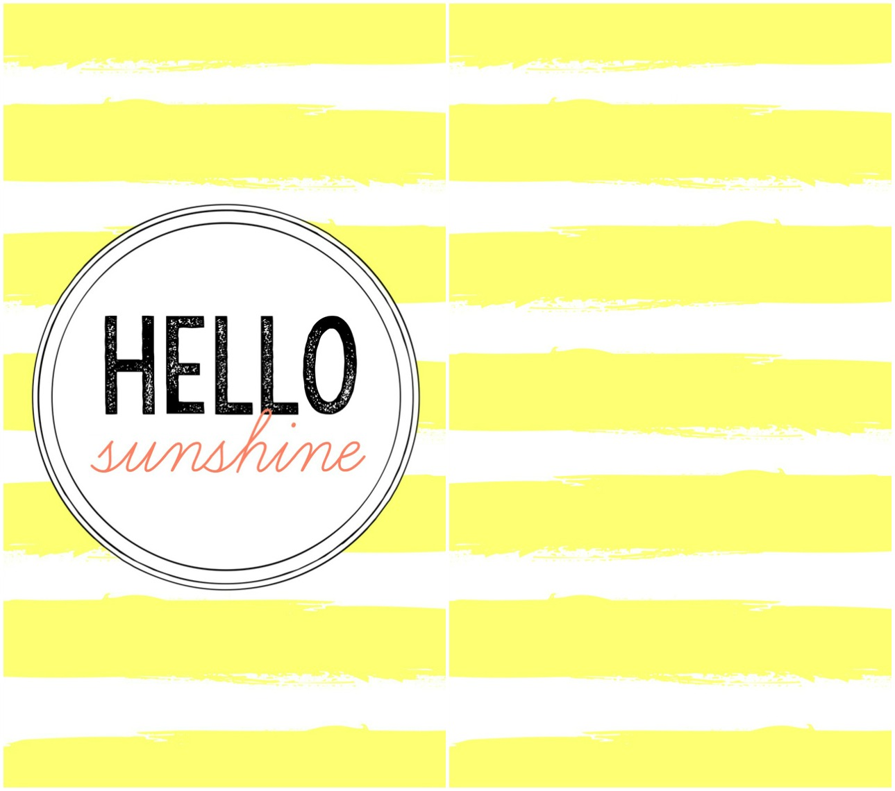 Free Summer Phone Wallpapers Hello Sunshine Quotes