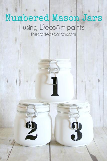 Numbered-Mason-Jars