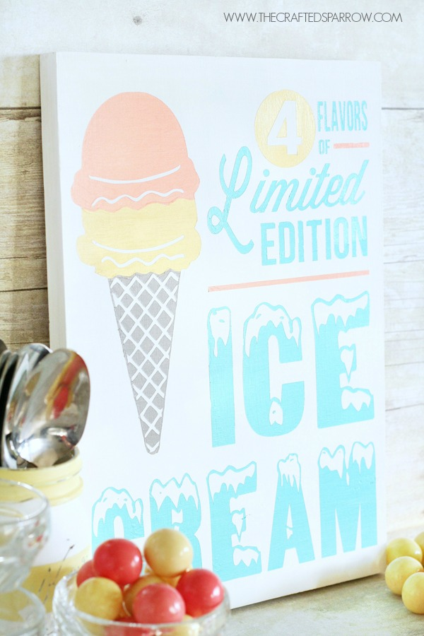 Vintage-Inspired-Ice-Cream-Sign