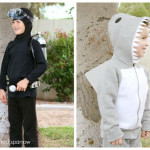 DIY Scuba Diver & Shark Costumes