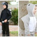 DIY Scuba Diver & Shark Costumes