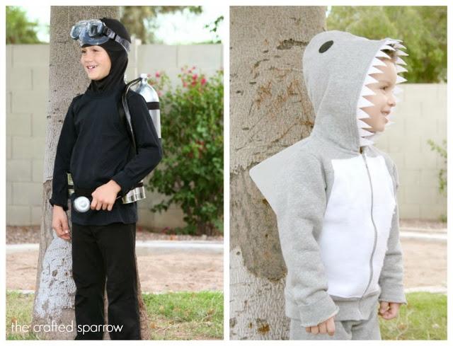 DIY-Scuba-Diver-&-Shark-Costume