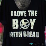 DIY Hunger Games Shirt {Freezer Paper Stencils}