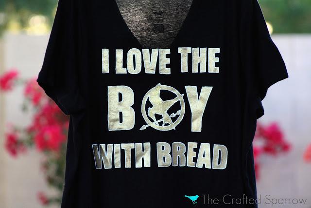 DIY Hunger Games Shirt