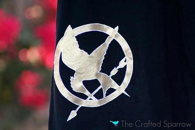 DIY Hunger Games Shirt