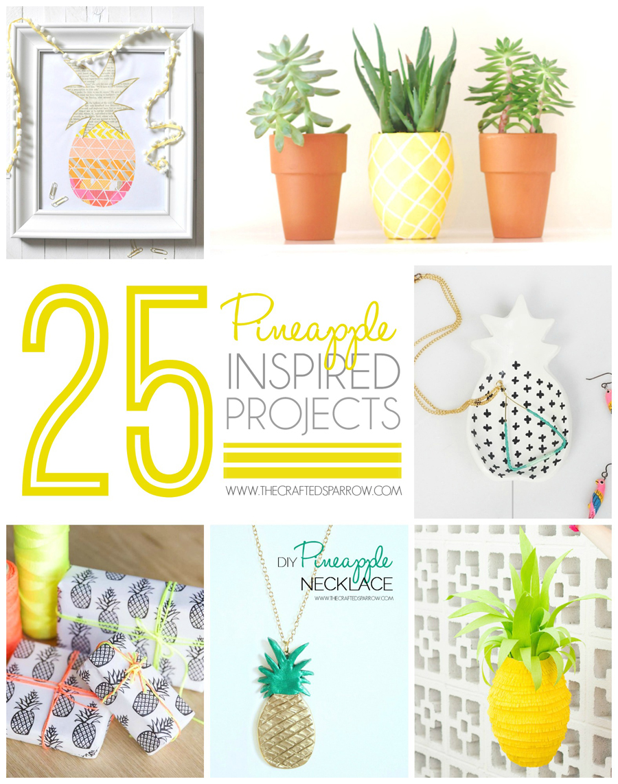 Pineapple Room Decor