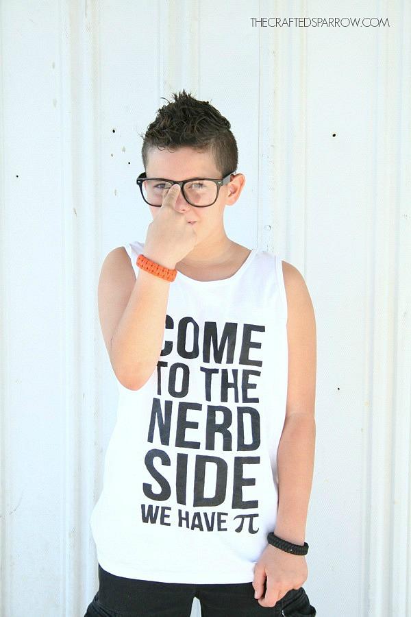 DIY Geek Inspired Shirt