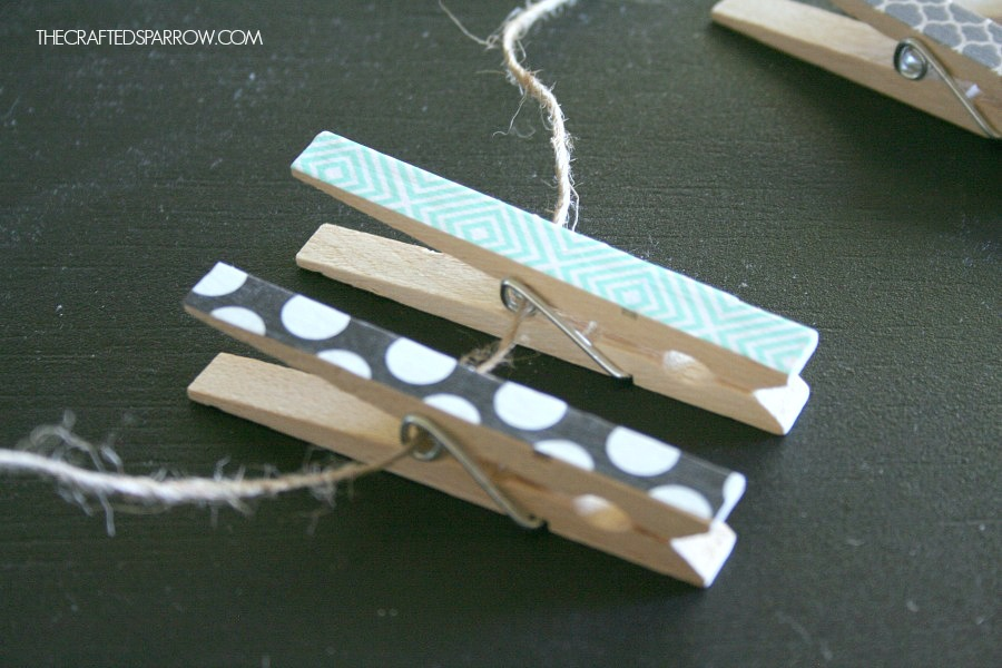 Clothespin-Photo-Display