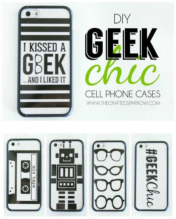 Diy geek chic cell phone cases for Cell phone cover design ideas