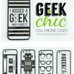 DIY Geek Chic Cell Phone Cases