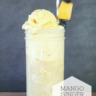 Mango Ginger Floats
