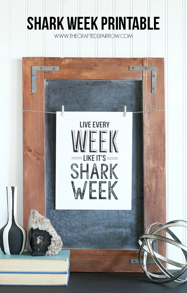 Shark-Week-Printable