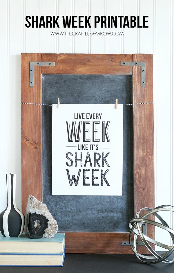 Shark-Week-Printable